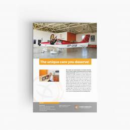 projekty graficzne, design newspaper, ilustracja, concept art, key visual, aero poznan, crrus aircraft, designer Ireneusz Bloch